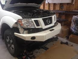 nissan versa front bumper yet another front bumper build nissan frontier forum