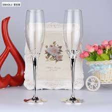 champagne glass wedding male u0027s women u0027s imperial crown champagne