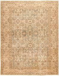 Neutral Persian Rug Antique Persian Malayer Rug 46837 Nazmiyal Nyc