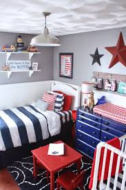 blue and red bedroom ideas a red white blue boys room blue boys rooms red white blue