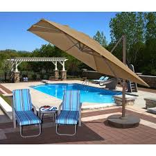 10 Foot Patio Umbrella Cantilever Patio Umbrellas Architecture And Home Tokumizu