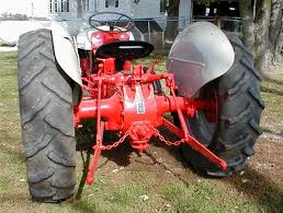 restored 1950 ford 8n tractor with front bumper for sale