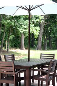 Pottery Barn Patio Umbrella by Patio The Lil House That Could
