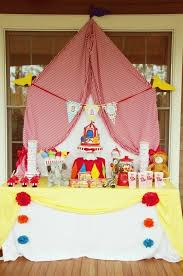 Pink And Yellow Birthday Decorations 25 Circus Birthday Party Decorations Spaceships And Laser Beams