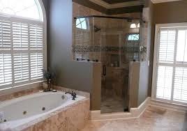 Corner Shower Bathroom Designs Enjoyable Bathroom Corner Walk Shower Ideas Corner Tiled Shower