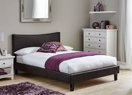 The  Best White Leather Bed Frame Ideas On Pinterest White - White faux leather bedroom furniture