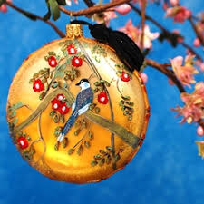 chinoiserie ornament cherry blossom chinoiserie blue