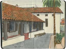 Mission Santa Clara De Asis Floor Plan by California U2013 Drawn The Road Again Page 2
