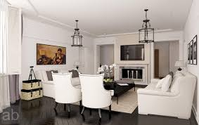 Classic Livingroom by Classic White Living Room Ideas Home Designing
