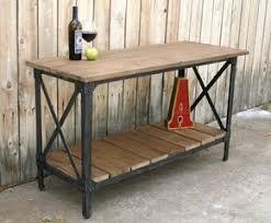 cinco hechos de mind numbing sobre muebles auxiliares ikea custom handmade metal reclaimed wood industrial console table tv