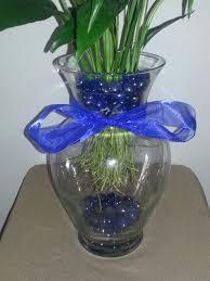Beta Fish In Vase 10 5 Inch Betta Vase Aquarium With Peace Lily Plant Blue Betta