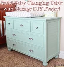 diy baby changing table build baby changing table with storage diy project the homestead