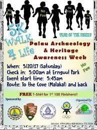 join us celebrate palau archeology heritage awareness week with