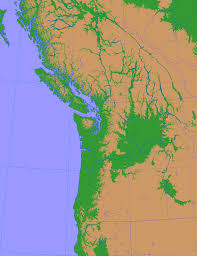 area detail maps of thetis island gulf islands pacific northwest