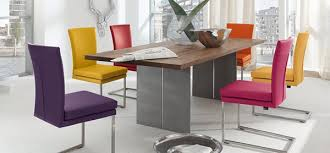 White Dining Table And Coloured Chairs A Burst Of Colors From 20 Dining Sets With Multi Colored Chairs