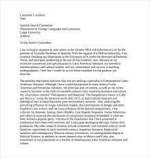 applying for an academic job cover letter