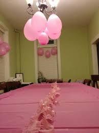 cheap easy birthday decorations 5 for a pink