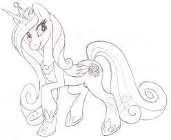 princess cadence sketch by stangwolf on deviantart