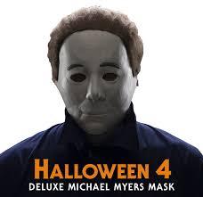 Michael Myers Halloween Costume Rubie U0027s Unveils Michael Myers U0027halloween 4 U0027 Mask Halloween