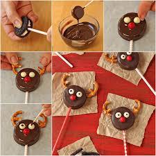 wonderful diy reindeer oreo cookie pops