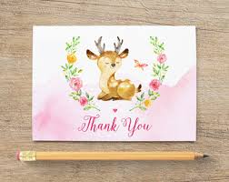 travel thank you card thank notes baby bridal shower