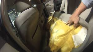 2007 toyota camry how to remove rear seat youtube