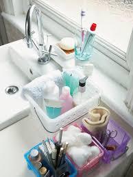 decluttering the bathroom hgtv bring order messy bathrooms