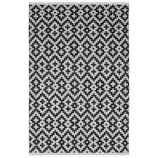 Black And White Outdoor Rug Fab Habitat Samsara Black White Outdoor Rug R810327025309 Free