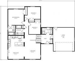 Bungalow Open Concept Floor Plans by Essex Es443 1 333 Sq Ft Split Level Custom Built Modular Home