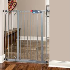 Extra Wide Pressure Fit Safety Gate Amazon Com Regalo Deluxe Easy Step Extra Tall Gate Platinum Baby