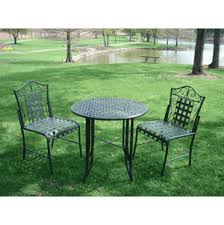 Iron Bistro Table Iron Bistro Table And Chair Set