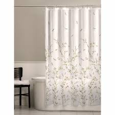 Cloth Shower Curtains Dragonfly Garden Fabric Shower Curtain