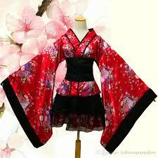 Sakura Halloween Costume Traditional Japanese Costume Halloween Anime Cosplay Uniform Women