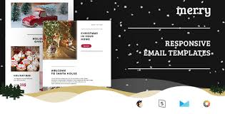 merry email templates set stready builder by sobasign