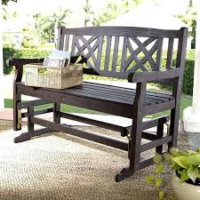Garden Rocking Bench Mosaic Rocking Chair Beastgames Club