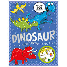 dinosaur colouring book ideas uk
