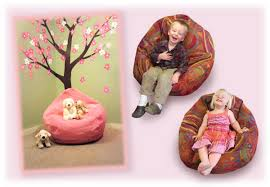 stylish child bean bag chair with small bean bag chairs