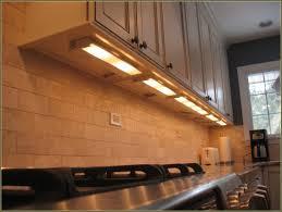 Undercounter Kitchen Lighting Hardwired Cabinet Lighting Led Home Design Ideas Creative