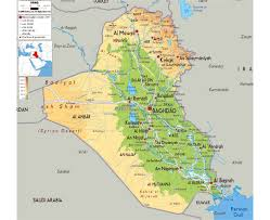 Physical Map Of Southwest Asia by Maps Of Iraq Detailed Map Of Iraq In English Tourist Map