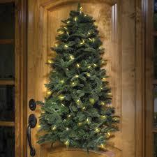 pre lit hanging christmas tree the green head