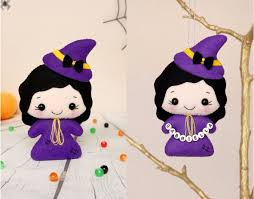 halloween ornaments witch doll nursery decor baby shower
