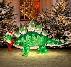 light up animated dinosaur lawn ornament jurassic