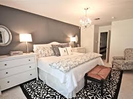 bedroom master bedroom color ideas gray houndstooth end of bed