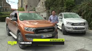 Yellow Ford Ranger Truck - ford ranger in u0026offroad test drive youtube