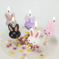rabbit cake rabbit cake candles birthday bunny easter by we to create