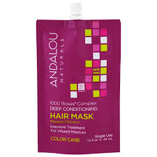 Deep Conditioner For Color Treated Hair Andalou Naturals 1000 Roses Complex Deep Conditioning Color Care