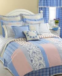 Patchwork Comforter Tommy Hilfiger Full Queen Bedding Bath Collections Comforters