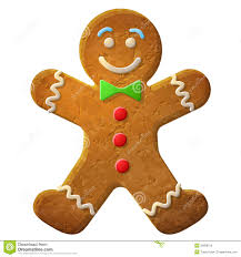 free christmas clipart gingerbread man clip art decoration