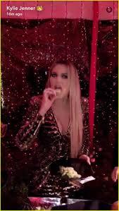 kim kardashian wears a lip ring to kardashian christmas party 2016