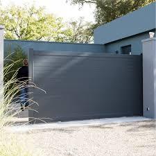 portail pour maison pas cher portail pvc gris portail pas cher 4m expression maison